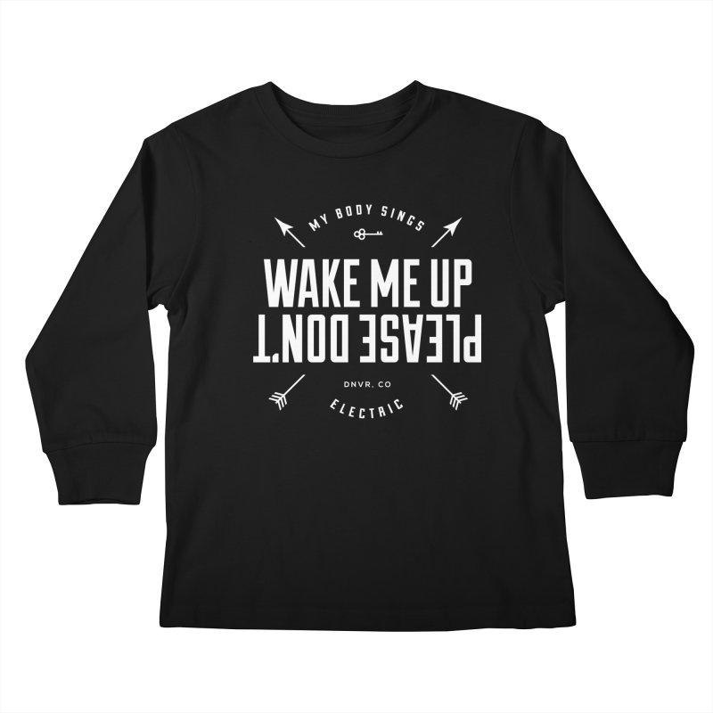Sleepyhead Kids Longsleeve T-Shirt by My Body Sings Electric Merch | Shop Men, Women, an