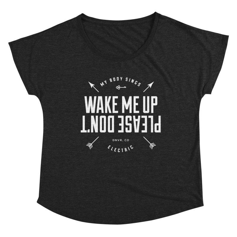 Sleepyhead Women's Scoop Neck by My Body Sings Electric Merch | Shop Men, Women, an