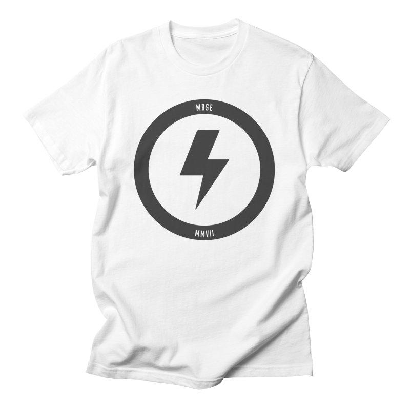Bolt Logo Men's T-Shirt by My Body Sings Electric Merch | Shop Men, Women, an