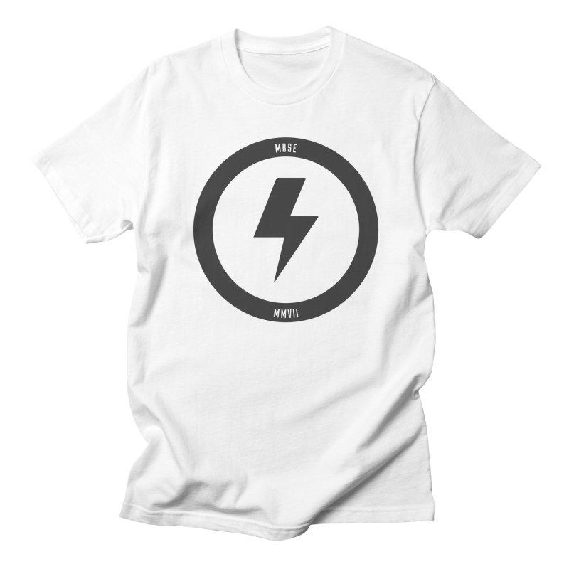 Bolt Logo Men's T-Shirt by My Body Sings Electric Merch | Shop Men, Women, an