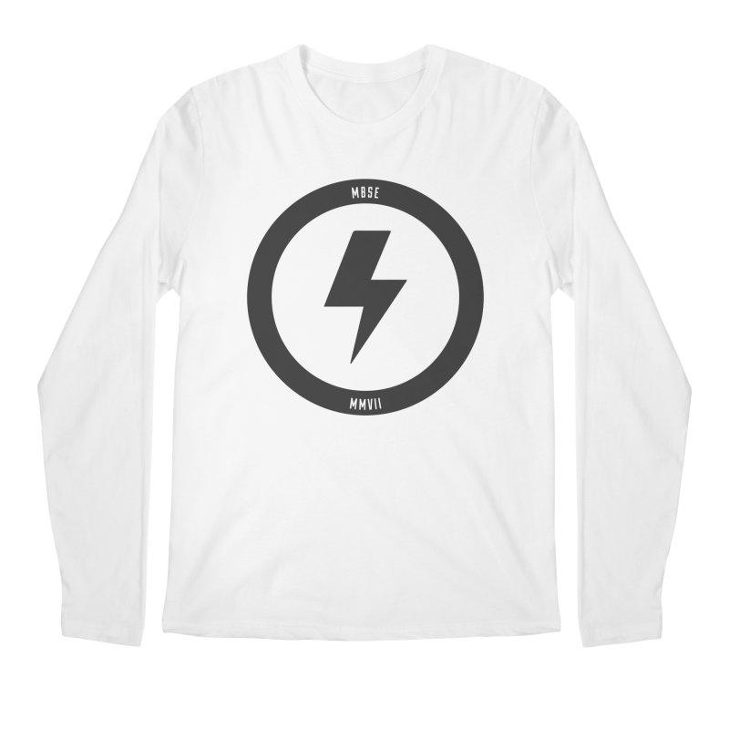 Bolt Logo Men's Regular Longsleeve T-Shirt by My Body Sings Electric Merch | Shop Men, Women, an