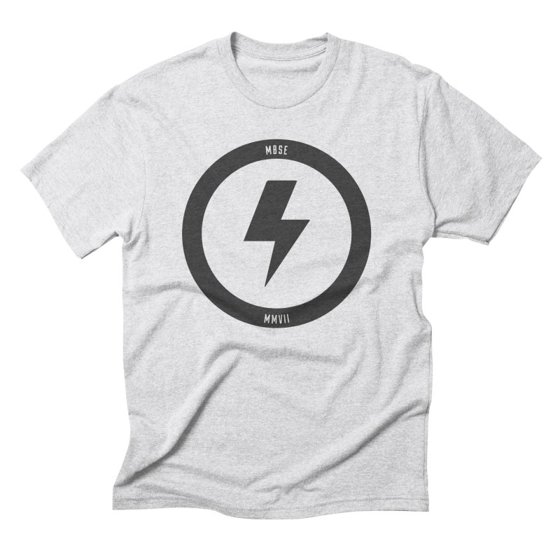 Bolt Logo Men's Triblend T-Shirt by My Body Sings Electric Merch | Shop Men, Women, an