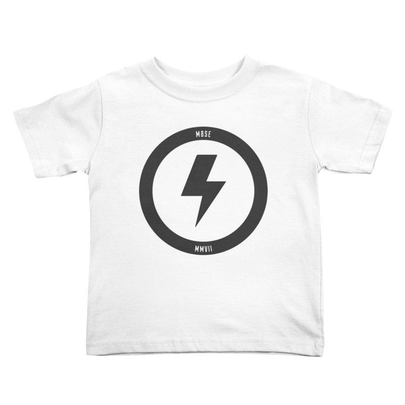 Bolt Logo Kids Toddler T-Shirt by My Body Sings Electric Merch | Shop Men, Women, an