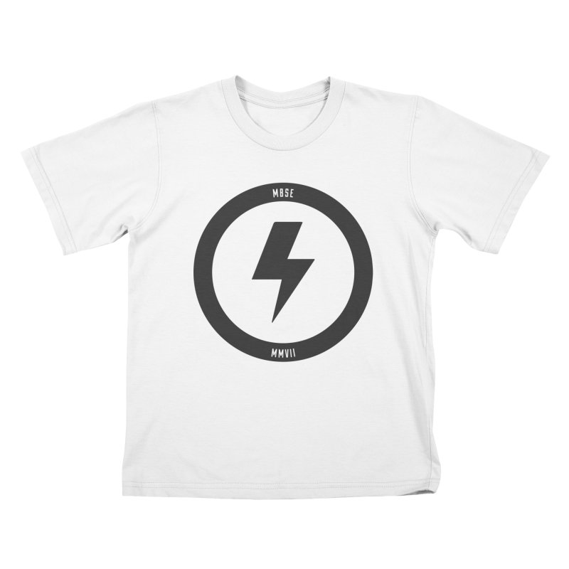 Bolt Logo Kids T-Shirt by My Body Sings Electric Merch | Shop Men, Women, an