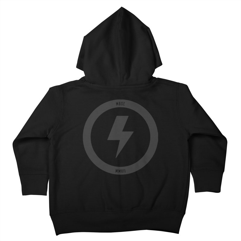 Bolt Logo Kids Toddler Zip-Up Hoody by My Body Sings Electric Merch | Shop Men, Women, an