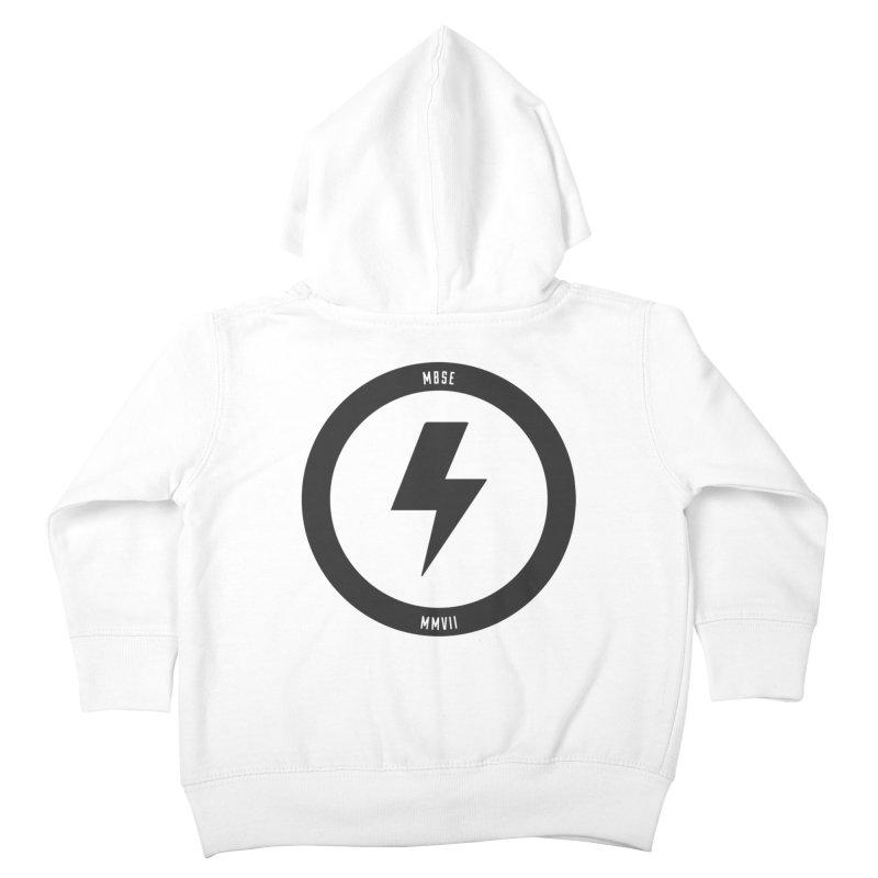 Bolt Logo Kids Toddler Zip-Up Hoody by My Body Sings Electric Merch | Shop Men, Women, an