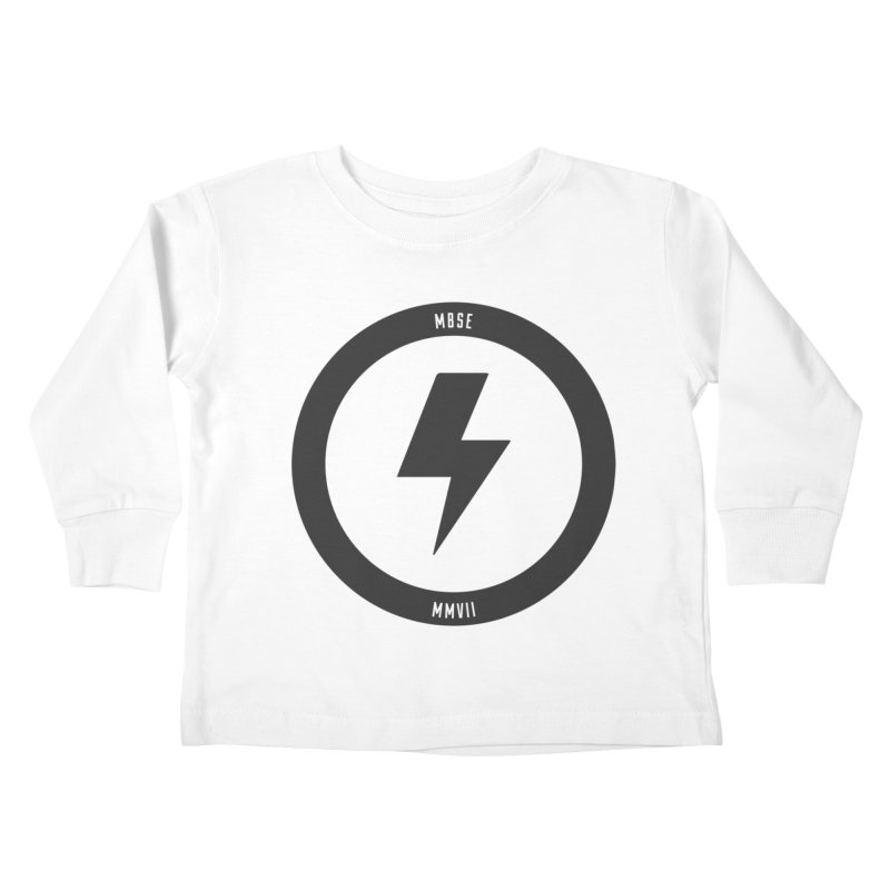Bolt Logo Kids Toddler Longsleeve T-Shirt by My Body Sings Electric Merch | Shop Men, Women, an