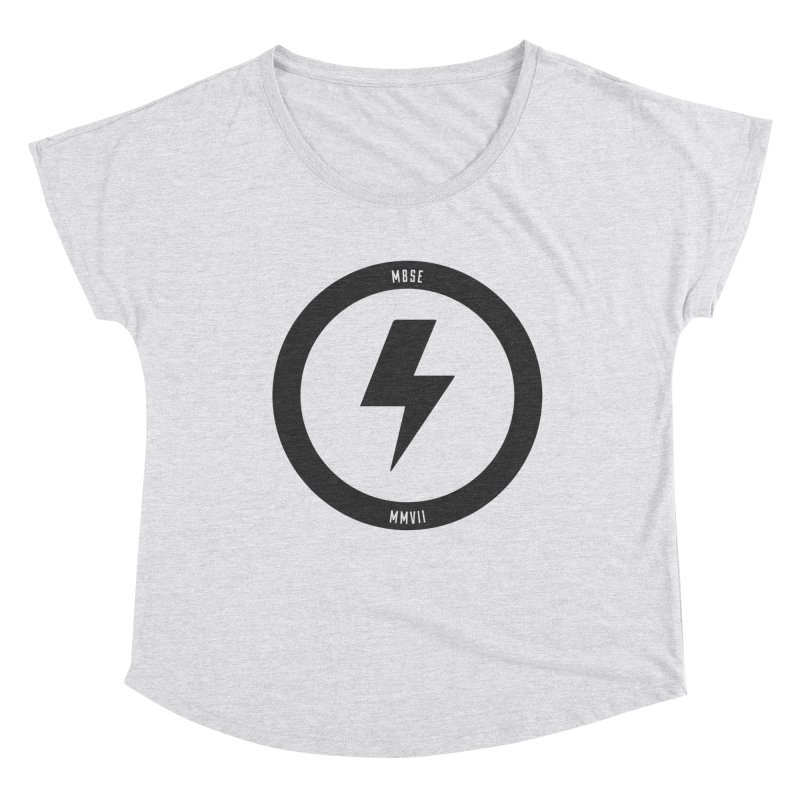 Bolt Logo Women's Dolman Scoop Neck by My Body Sings Electric Merch | Shop Men, Women, an