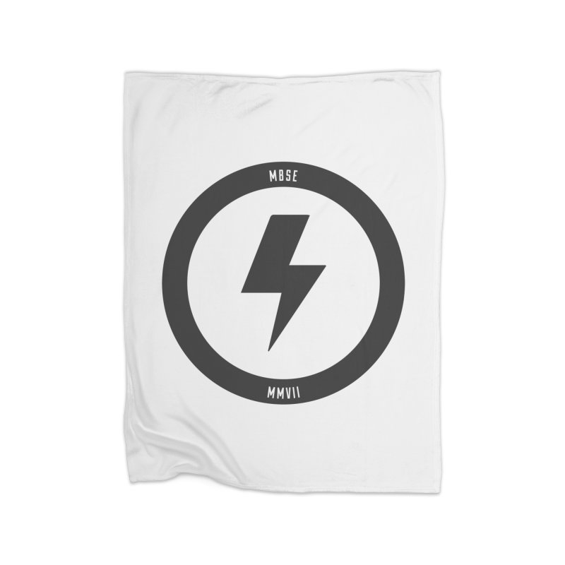 Bolt Logo Home Fleece Blanket Blanket by My Body Sings Electric Merch | Shop Men, Women, an