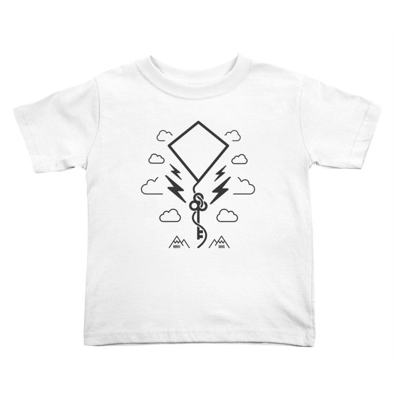 Mile High Flyer (Black) Kids Toddler T-Shirt by My Body Sings Electric Merch | Shop Men, Women, an