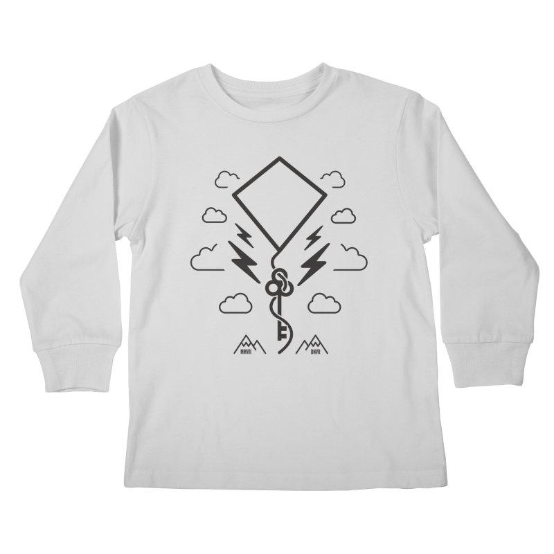 Mile High Flyer (Black) Kids Longsleeve T-Shirt by My Body Sings Electric Merch | Shop Men, Women, an