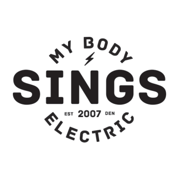 My Body Sings Electric Merch | Shop Men, Women, an Logo