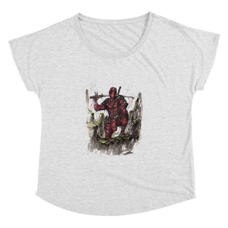 Deadpool samurai sumie Women's Dolman by mycks's Artist Shop