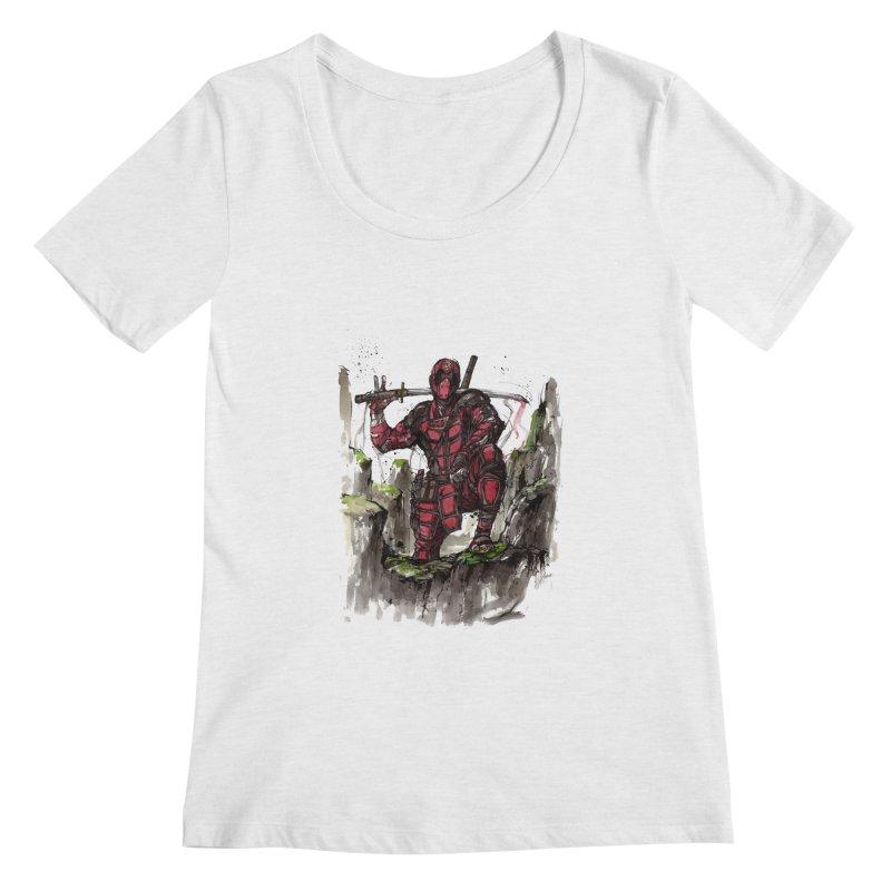 Deadpool samurai sumie   by mycks's Artist Shop
