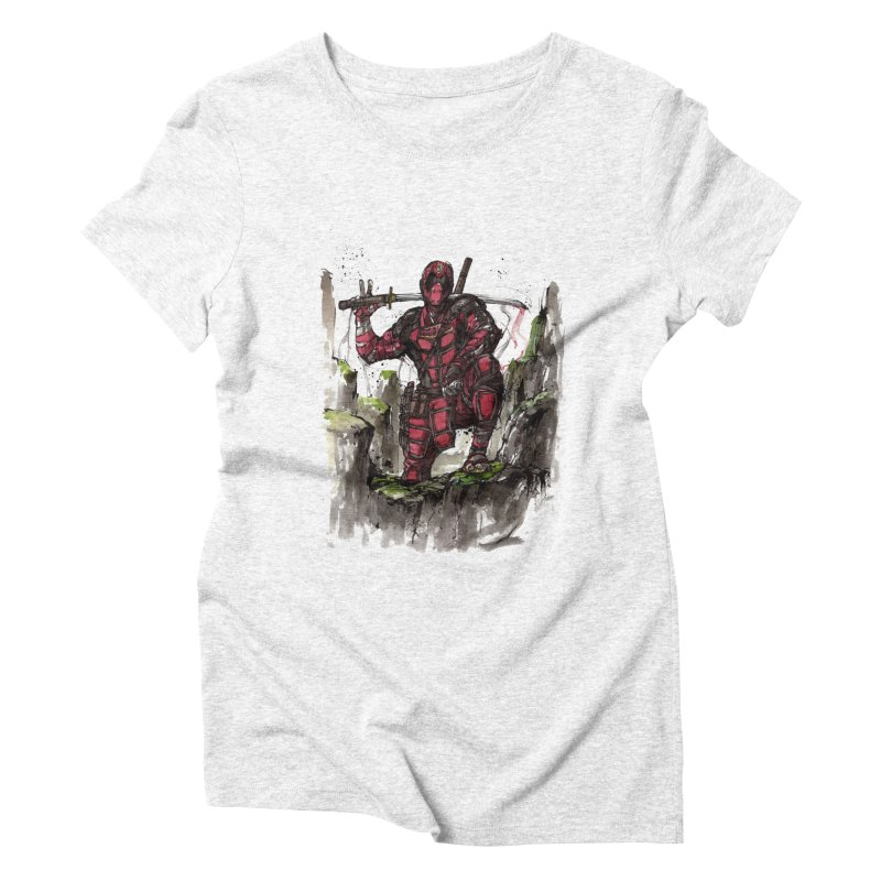 Deadpool samurai sumie   by mycks's Artist Shop