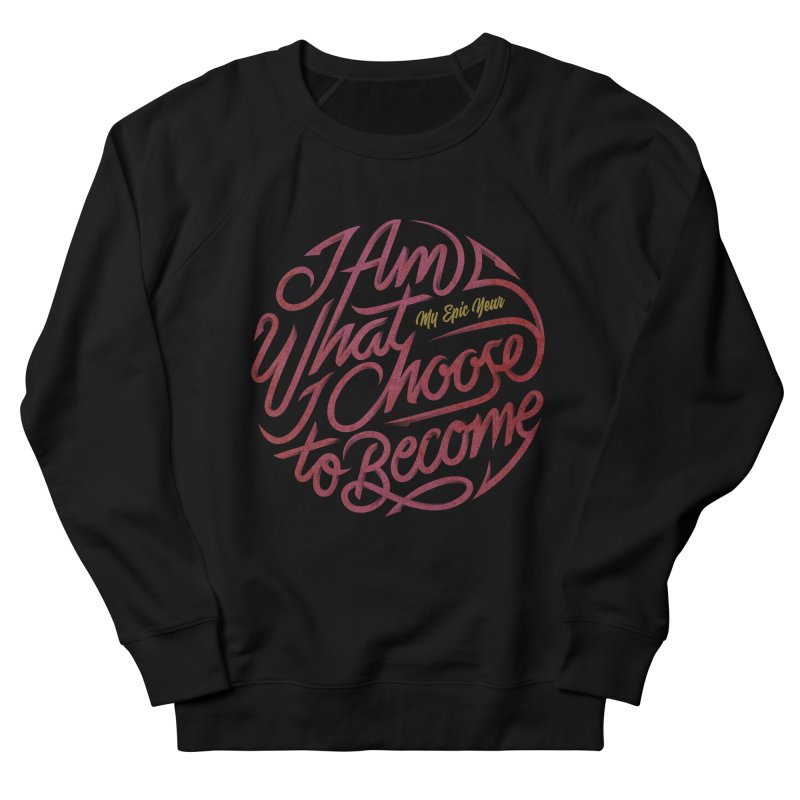 I Am - Collection (Pink/Gold) Women's French Terry Sweatshirt by My Epic Year