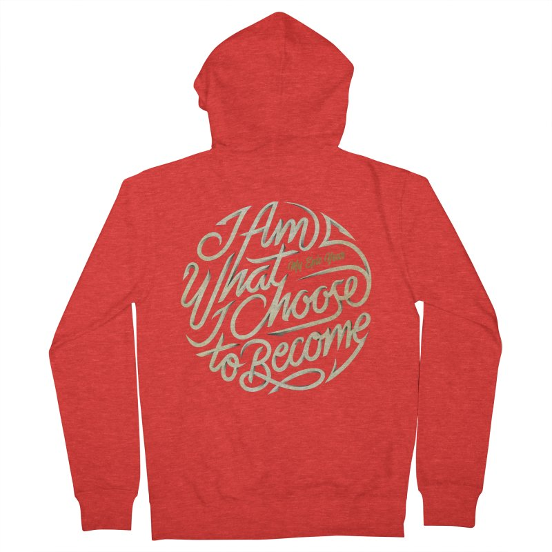 I Am - Collection (White/Gold) Women's Zip-Up Hoody by My Epic Year