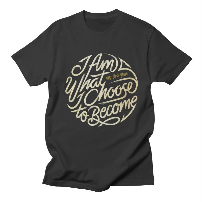 I Am - Collection (White/Gold) Men's T-Shirt by My Epic Year