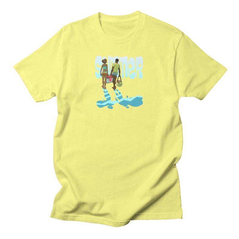 End of Summer Men's T-Shirt by MyHeroComics Artist Shop