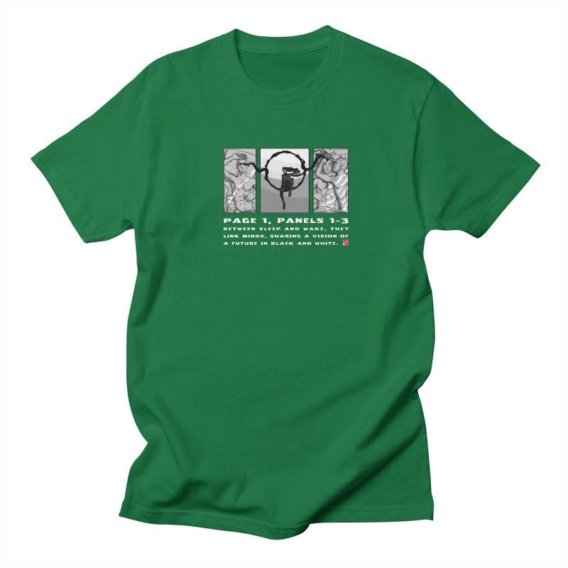 Visions Men's T-Shirt by MyHeroComics Artist Shop