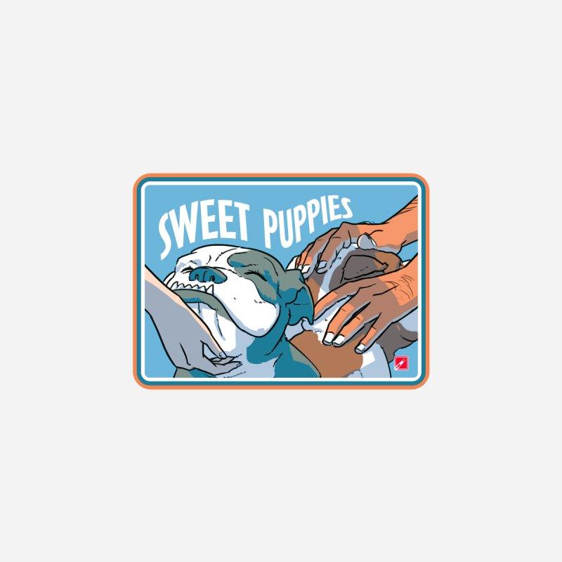 Sweet Puppies Men's T-Shirt by MyHeroComics Artist Shop