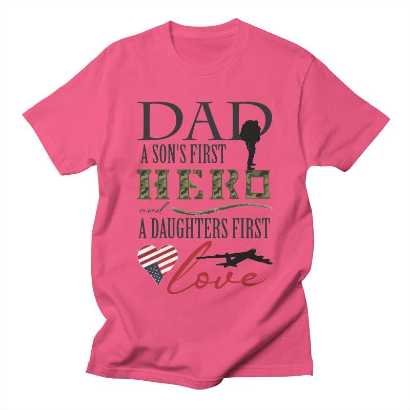 H E R O Women's Regular Unisex T-Shirt by MyInspirationalGifts Artist Shop