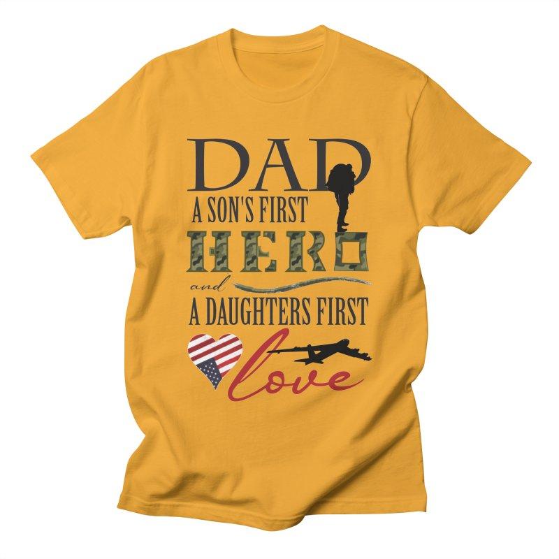 H E R O Men's Regular T-Shirt by MyInspirationalGifts Artist Shop