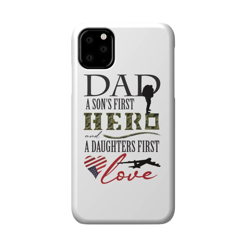 H E R O Accessories Phone Case by MyInspirationalGifts Artist Shop