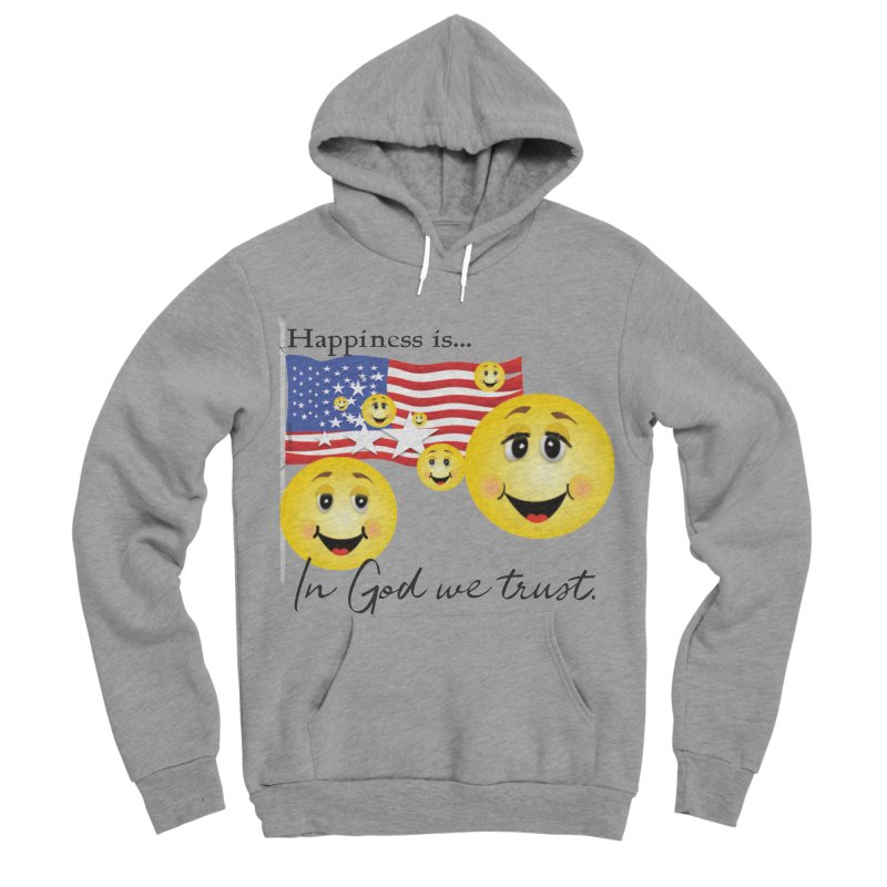 Happiness is... Women's Sponge Fleece Pullover Hoody by MyInspirationalGifts Artist Shop