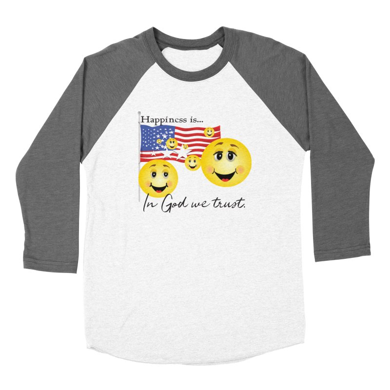 Happiness is... Women's Longsleeve T-Shirt by MyInspirationalGifts Artist Shop
