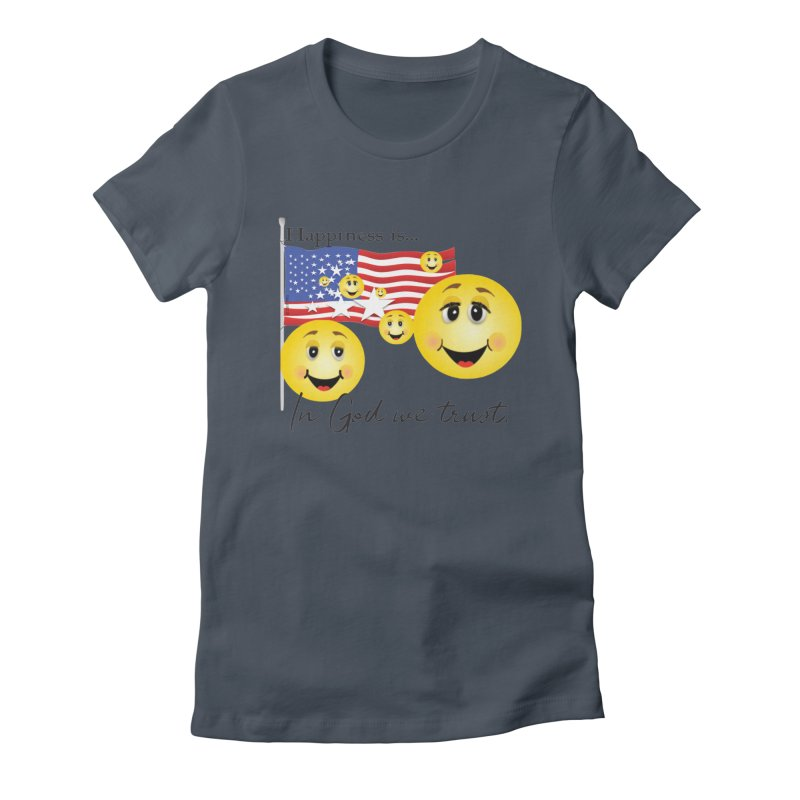 Happiness is... Women's T-Shirt by MyInspirationalGifts Artist Shop