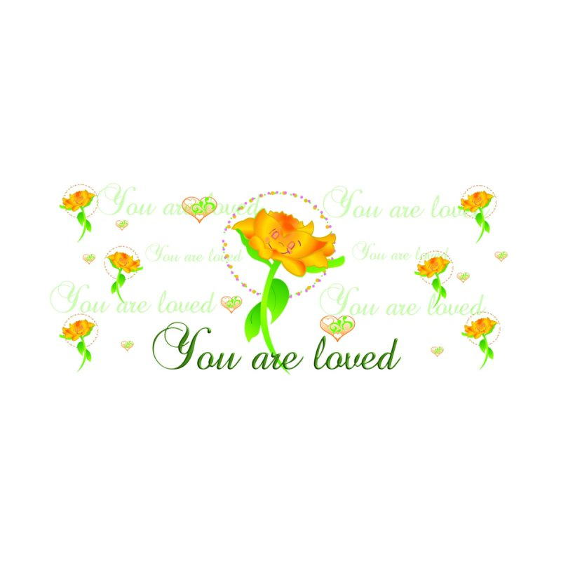 You are Loved mug/waterbottle by MyInspirationalGifts Artist Shop
