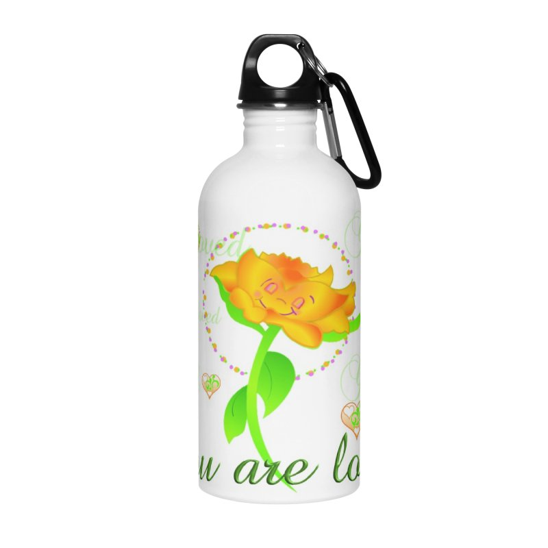 You are Loved mug/waterbottle Accessories Water Bottle by MyInspirationalGifts Artist Shop