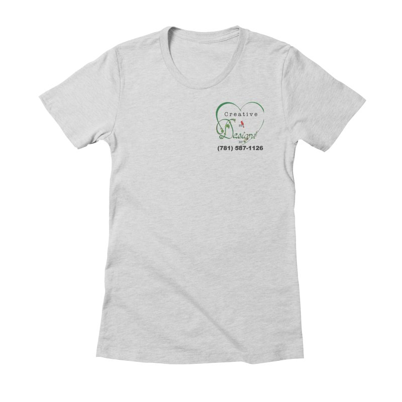 Creative by Design RT brand Women's Fitted T-Shirt by MyInspirationalGifts Artist Shop