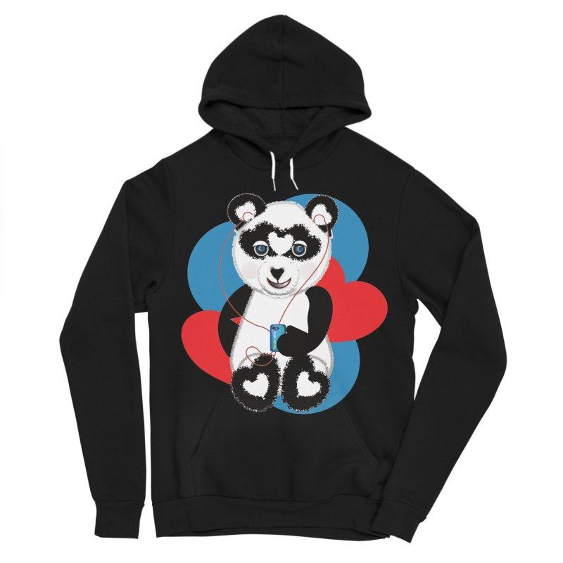 Pandorable Panda Women's Sponge Fleece Pullover Hoody by MyInspirationalGifts Artist Shop