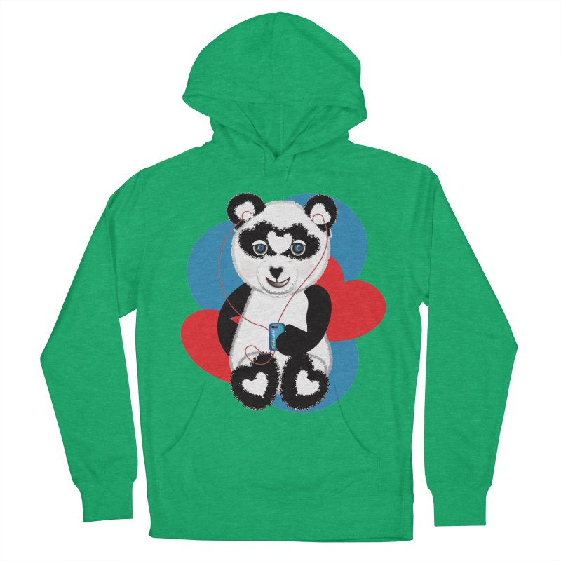Pandorable Panda Women's French Terry Pullover Hoody by MyInspirationalGifts Artist Shop