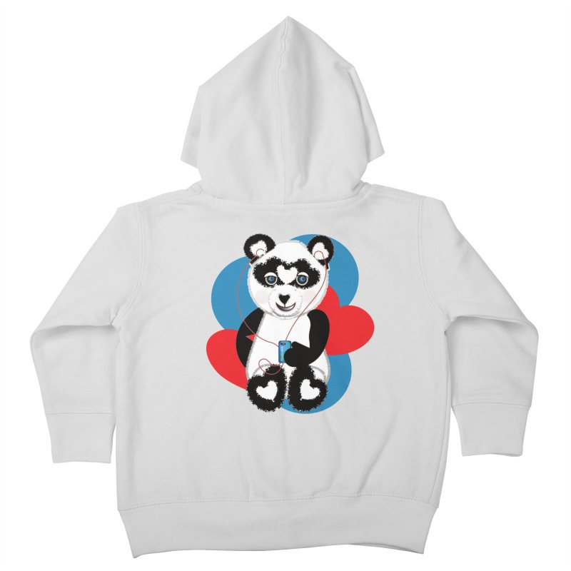 Pandorable Panda Kids Toddler Zip-Up Hoody by MyInspirationalGifts Artist Shop