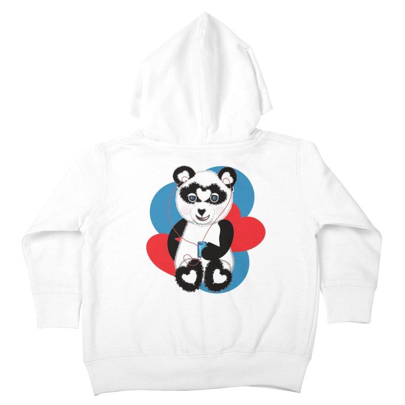 Pandorable Panda Kids Toddler Zip-Up Hoody by MyInspirationalGifts Artist Shop