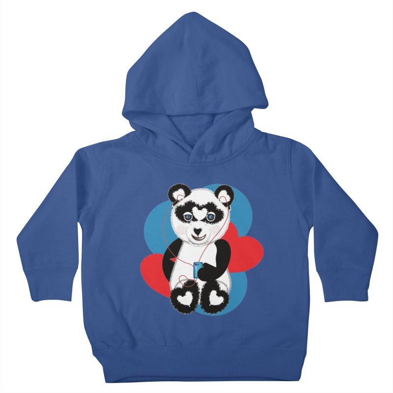 Pandorable Panda Kids Toddler Pullover Hoody by MyInspirationalGifts Artist Shop