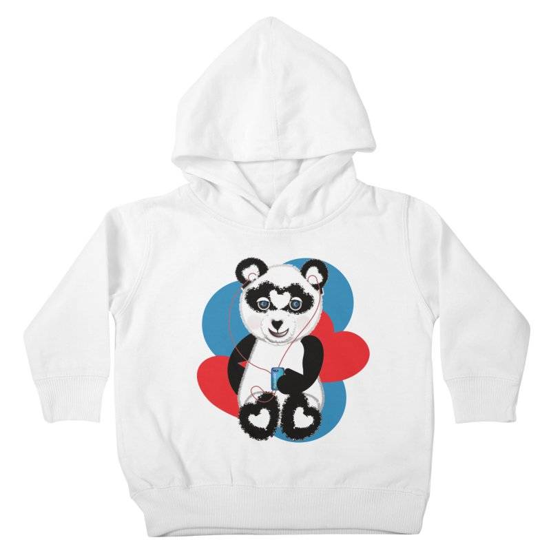 Pandorable Panda Kids Toddler Pullover Hoody by MyInspirationalGifts Artist Shop
