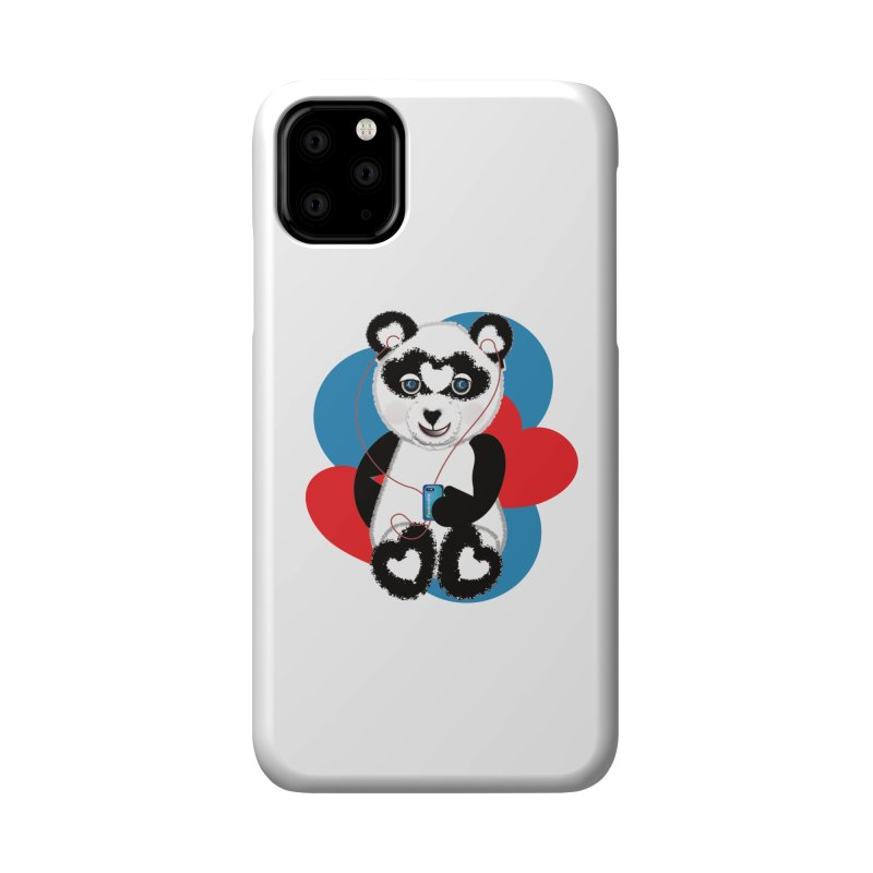 Pandorable Panda Accessories Phone Case by MyInspirationalGifts Artist Shop