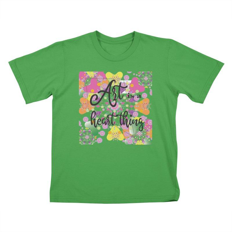 Art is Kids T-Shirt by MyInspirationalGifts Artist Shop