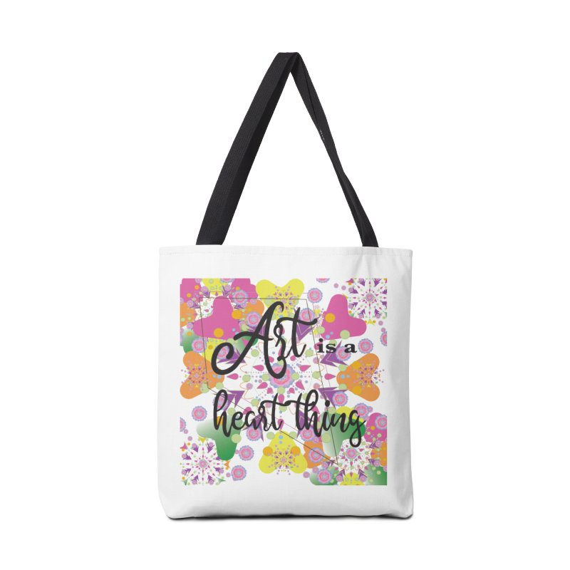 Art is a Heart Thing Accessories Tote Bag Bag by MyInspirationalGifts Artist Shop