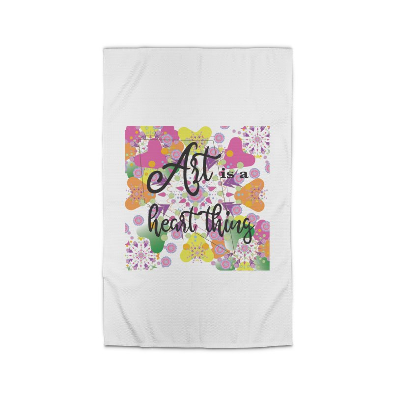 Art is Home Rug by MyInspirationalGifts Artist Shop