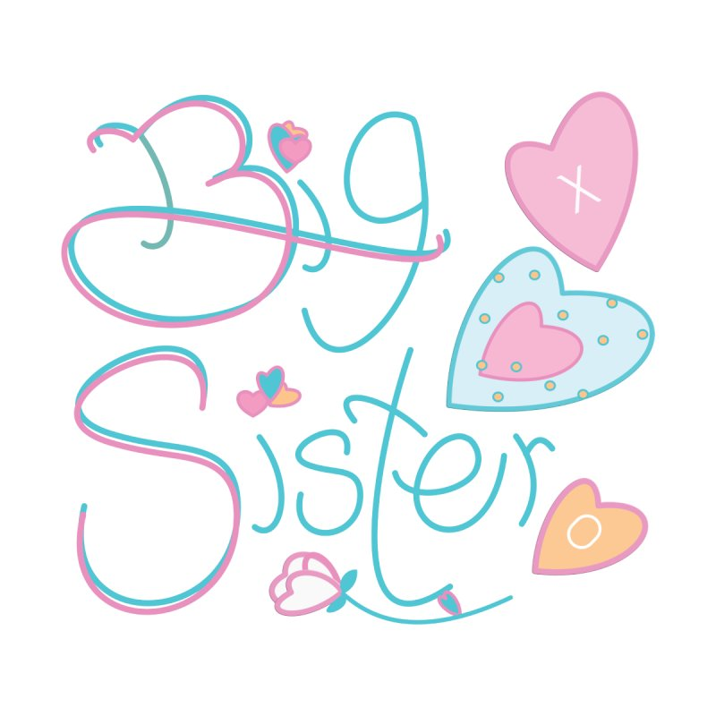 Big Sister Accessories Bag by MyInspirationalGifts Artist Shop