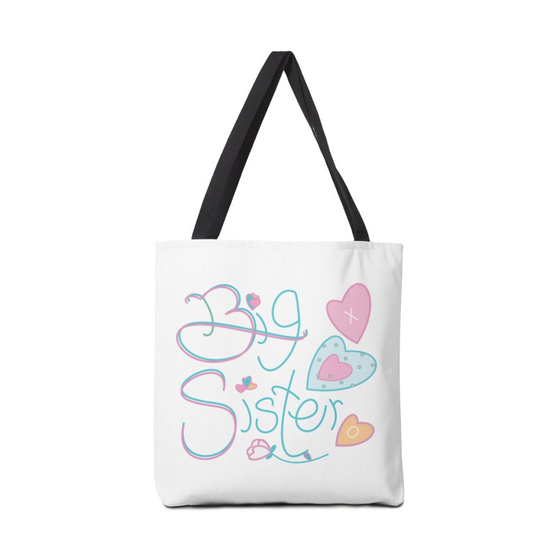 Big Sister Accessories Tote Bag Bag by MyInspirationalGifts Artist Shop