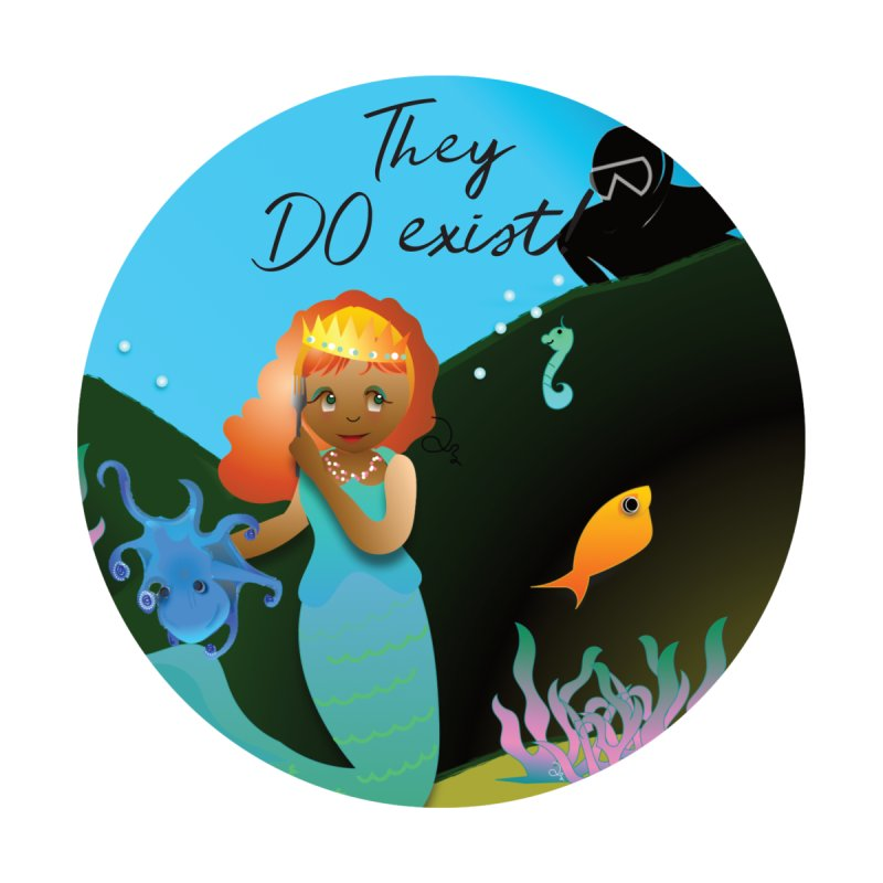 They DO Exist Home Rug by MyInspirationalGifts Artist Shop