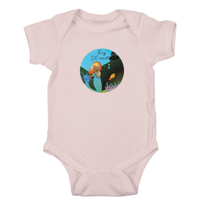 They DO Exist Kids Baby Bodysuit by MyInspirationalGifts Artist Shop