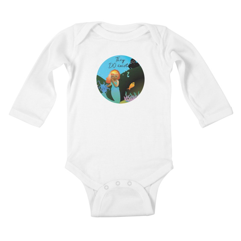 They DO Exist Kids Baby Longsleeve Bodysuit by MyInspirationalGifts Artist Shop