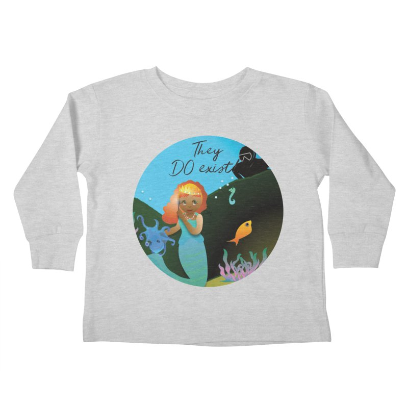 They DO Exist Kids Toddler Longsleeve T-Shirt by MyInspirationalGifts Artist Shop